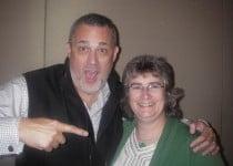 Tara R. Alemany with Jeffrey Hayzlett from The Hayzlett Group